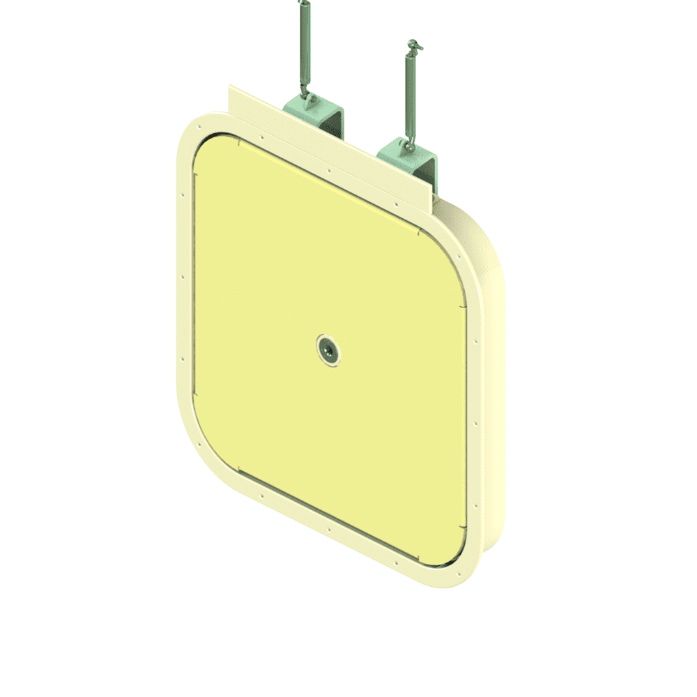 A rendering of the 3240 model hatch.